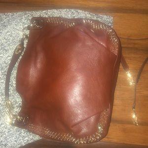 Rebecca Minkoff worn twice brown handbag